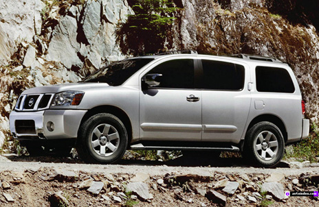 nissan armada 2009 especificaciones fotos y videos. Black Bedroom Furniture Sets. Home Design Ideas