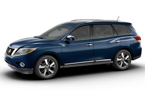 2014 Nissan Pathfinder Arctic Blue